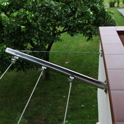 I miei lavori in acciaio inox - Stendibiancheria da giardino ...