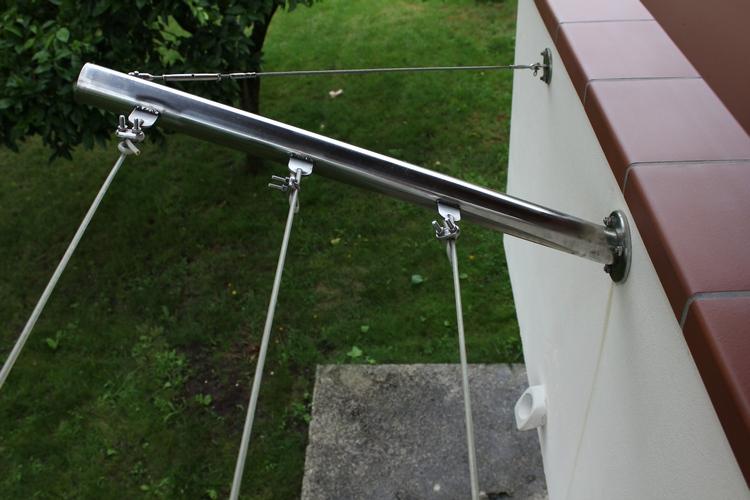 Vetrate scorrevoli pareti in vetro per la chiusura di terrazzi e