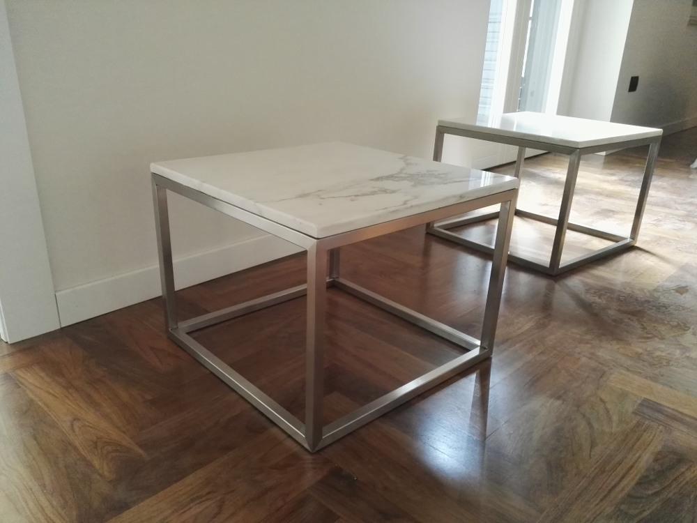 Tavoli da arredamento in acciaio inox realizzati su misura for Arredamento tavoli